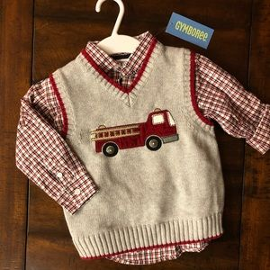 NWT Gymboree Sweater Vest Set